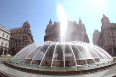 Piazza De Ferrari, Genova, Liguria - © Roberta Boero