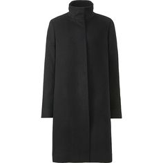 WOMEN CASHMERE BLENDED STAND COLLAR COAT | UNIQLO