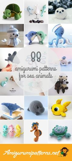 88 Sea Animals Amigurumi Patterns