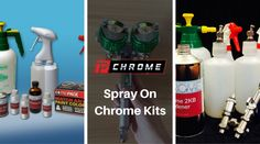 Spray Chrome Kits for Almost Any Surface