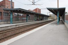 This is the train station in which Adele works and where she first meets Katia. It is cold and damp just as Katia describes the station, this reflects in Adele's reaction to wanting to travel elsewhere - she is lively and optimistic. Train Platform, Train Station, Stairs, City, Transportation, Wallpapers, Free, Stairway, Staircases
