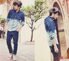 Ocean on my Shirt (by Mohcine Aoki) http://lookbook.nu/look/3247481-Ocean-on-my-Shirt