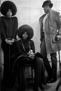 VINTAGE PHOTOS OF THE BLACK PANTHER PARTY:    Black Men and Women working together as one.    NOTE: There was never a need for a Black Feminist movement. Black Women and children were ALWAYS accommodated for in Black Nationalists and Pan Afrikanist institutions.