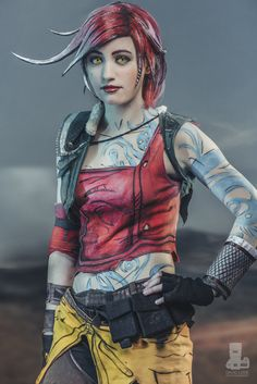 Character: Lilith the Siren (aka The Firehawk) / From: 2K Games & Gearbox Software's 'Borderlands' Video Game Series / Cosplayer: Fiz Cosplay / Photo: David Love Photography