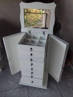 Movel Porta Bijuteria E Esmaltes - R$ 389,00 em Mercado Livre