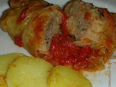 Ricetta Portata principale : Involtini di verza con carne macinata da Cielomiomarito