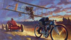 David Uhl (b.1961) — The Need For Speed (1050×608)