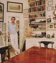 Jeremy Brett's Flat  RIP I miss him. His last few years were sad but he battled on.. Best Sherlock Holmes ever