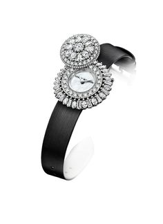 Twitter / HarryWinston: The delicate passing of time. Harry Winston Rosebud™