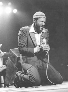 """Marvin Gaye---After the old Motown """"buy-a-ticket and see 3 acts + the headliner; I never got to see Marvin perform live"""
