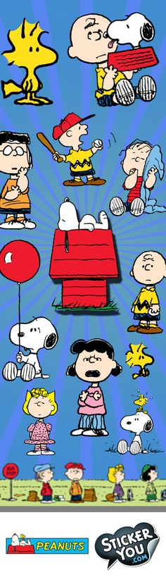 Everyone's favorite beagle comes to life in these lovable @Snoopy PEANUTS stickers from StickerYou! Charlie Brown, Snoopy, Lucy, Linus, even Woodstock are all right here! Choose from a variety of styles  from vinyl stickers, car decals, laptop stickers and more, find your favorites all at StickerYou! We promise we won't pull away the football