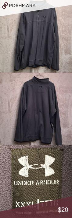 Gray Under Armour 1/2 Zip pullover Gray Under Armour pullover Under Armour Shirts Sweatshirts & Hoodies