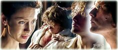 "genoacedo: ""Jamie and Claire Fraser #outlander #season2 @samheghan…"