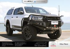 AFN has developed the first products for New Toyota Hilux 2016 Toyota 4x4, Toyota Trucks, Toyota Hilux, Hilux 2016, 4x4 Accessories, Off Road Adventure, Jeep Cherokee, Toyota Land Cruiser, Pickup Trucks