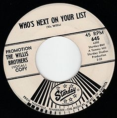 """45vinylrecord Who's Next On Your List/Truck Driver's Queen (7"""" DJ/45 rpm) STARDAY http://www.amazon.com/dp/B00NWXU4NA/ref=cm_sw_r_pi_dp_JhEDvb03ECP7A"""