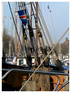 Logger VL92 Balder in Oude Haven-Vlaardingen