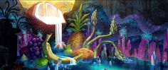 Production Design Development of Cloudy With A Chance Of Meatballs 2