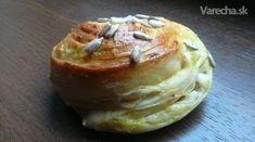 Zemiakový kysnutý slimák s balkánskym syrom (fotorecept) - Recept