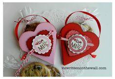 Valentine Treat Pouch- Simple Treat Pkg for Valentine Gift