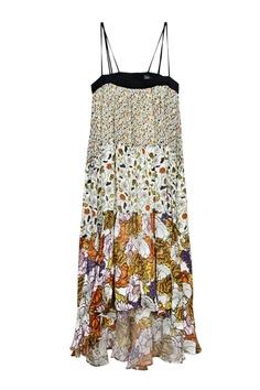 PROENZA SCHOULER FLOWER PRINTED DRESS