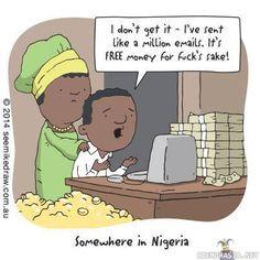 Sillävälin Nigeriassa