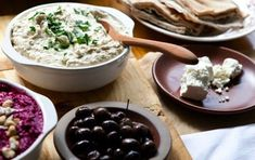 Beet Spread, hummus, olives, cheese, and pita Good Healthy Recipes, Healthy Cooking, Healthy Foods, Acai Berry Diet, Paleo Diet Food List, Sauces, Good Food, Yummy Food, Vegetarian Appetizers
