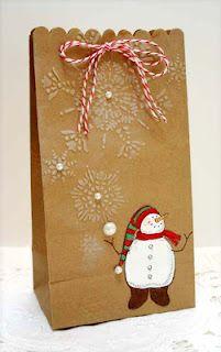 Snow Much Fun gift bag