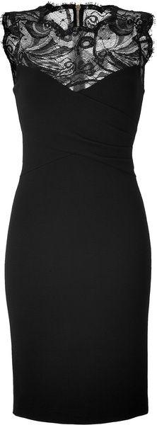 Emilio Pucci Black Lace Dress - love dresses!