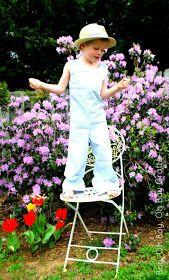 Boy, Oh Boy, Oh Boy Crafts: Sew Like My Mom Surprise Pattern Tour: Seersucker Coveralls
