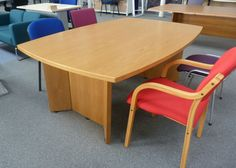 Meeting table with matching cupboard £175 +VAT http://www.usedofficefurniturelancashire.co.uk/products/detail.cfm?id=233