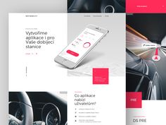 Charging App Microsite designed by Matus for Ents. Connect with them on Dribbble; the global community for designers and creative professionals. Digital Media, App Design, Coding, Designers, Website, Application Design, Programming