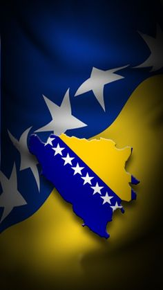 Shop Bosnian Flag iPhone Case created by Balkanite. Personalize it with photos & text or purchase as is! Bosnia Flag, Flag Country, Spring Wallpaper, Samsung Galaxy Wallpaper, Macedonia, Bosnia And Herzegovina, Some Pictures, Beautiful World, Albania