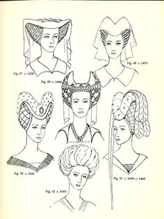 hair fashion women hairstyle medieval