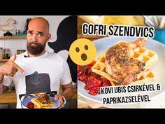 Ettél már ilyet? :D Csirke ÉS gofri!! - YouTube