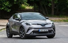 Road test Toyota C-HR 1.2 Turbo (Athens-Greece)