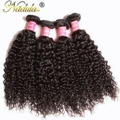 4 cái/lốc Brazil Xoăn Tóc Trinh Nữ 7A Brazil Trinh Tóc Quăn Weave 8-26 inch của Brazil Quăn Weave Nhân tóc Gói
