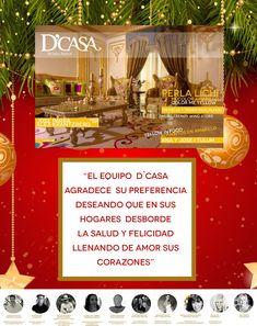 D´CASA  Revista D'Casa les desea Feliz Navidad nuestros mejores deseos , Merry Christmas, our best wishes, Joyeux Noël, nos meilleurs voeux .