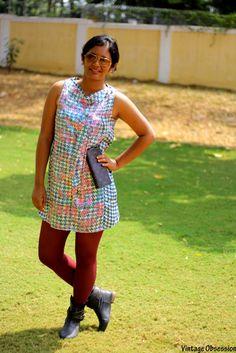 #Vintage Obsession's Smriti Rao looking stunning in #Remanika