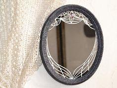 Tutoriel DIY: Graver et customiser un miroir via DaWanda.com