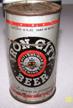 Want better tasting beer? Start home brewing and make craft quality beer at a fraction of the price. Make Beer At Home, How To Make Beer, Home Brewing Beer, Brewing Co, Beer Can Art, Iron City Beer, Beer Can Collection, Old Beer Cans, Homemade Beer