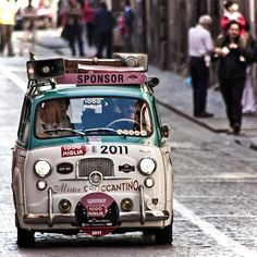redpuffin: (via Fiat 600 multipla mister croccantino 1000 miglia - a photo on Flickriver)