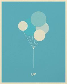 Minimalist Pixar Posters from Posterinspired - UP