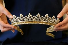 In 2007, Princess Maria Gabriella of Savoy made the decision to auction off, many of the pieces of jewellery she inherited from her mother to pay a tax bill and maintain the family home in Geneva. Top lot in the auction is a diamond tiara made by Faberge in 1895, which is valued at between £390,000 and £600,000, but is expected to fetch up to three times that amount. It contains rare tear-drop diamonds given by Tsar Alexander to the Empress Josephine. Belgian-b
