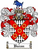 Baron Coat of Arms / Baron Family Crest