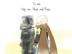Para míEllos son esperanza y paz