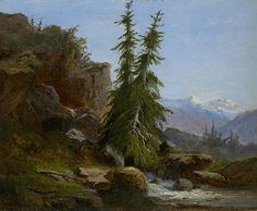 Rocks and Mountains is the fourth exhibition in a series drawn from the collection of oil sketches acquired by Morgan Trustee Eugene V. Thaw and his wife, Clare.