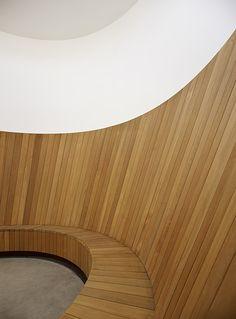 Turrell Skyspace | Ogrydziak Prillinger Architects. espacio asiento