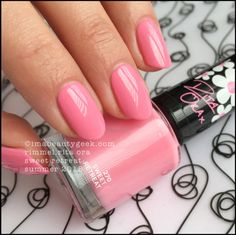 Swatches of the Rimmel London Rita Ora Nail Polish Collection for Summer Come on in and see what's new! Rimmel Nail Polish, Rita Ora, Long Painting, Nail Mania, London Nails, Pink Dragon, Summer Shades, Pink Power, Rimmel London