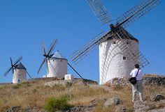 Don Quixote Windmills Spain | Windmills of La Mancha in Spain conjure visions of Don Quixote Jackie ...