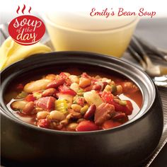 Emily's Bean Soup Recipe from Taste of Home -- shared by Emily Chaney of Penobscot, Maine
